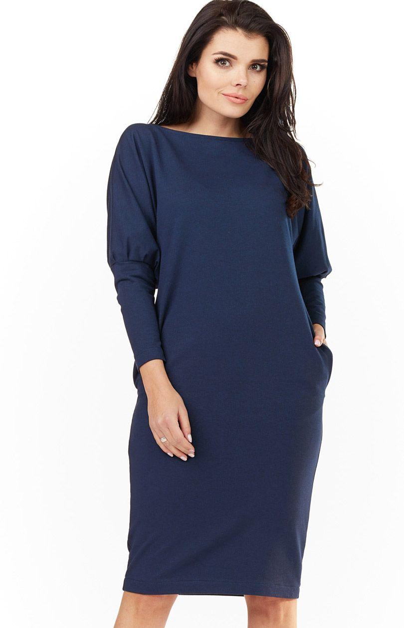 6e574b17e1 Sukienka A206 - Sklep OHSO.pl™