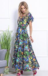 f004ddd88c Sukienki z falbaną - modne sukienki z falbanami - Sukienki na sezon ...