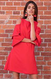 16331c0eac czerwone sukienki - Sukienki na sezon 2019 - Moda - Fobya ...