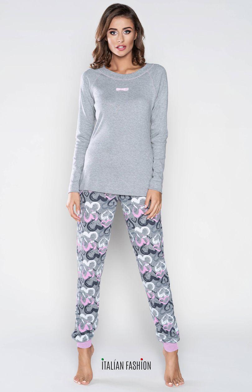 c36d36de5378e8 Ana piżama damska dł.dł. - Sklep INTYMNA.PL™