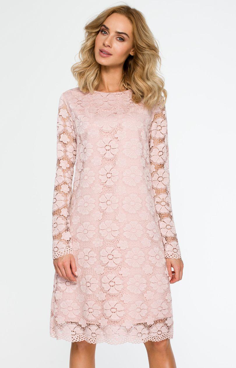 bc419cf1fb Sukienka M406 - Sklep OHSO.pl™